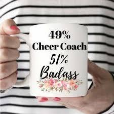 cheer coach mug cheer coach cup gift