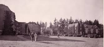 Orientation at the University of Portland Campus