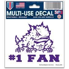 Tcu Stickers Tcu Horned Frogs Bumper Sticker Car Decal Fansedge