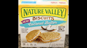 Nature Valley Biscuits with Coconut Butter Review - YouTube