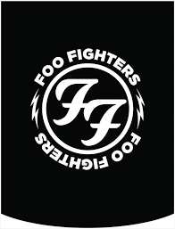 Foo Fighters Ff Logo Backpack Face Panel Foo Fighters Foo Fighters Shirt Foo Fighters Logo