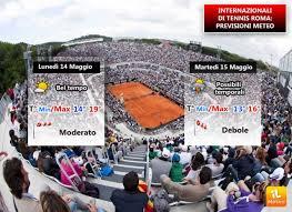 Meteo: torna il grande tennis a Roma con gli Internazionali al Foro Italico  » ILMETEO.it