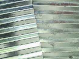 how to age galvanized metal from shiny