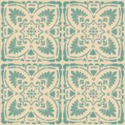 Vinyl Tile Stickers Pack In Foglio Mint For Kitchen Bathroom Floors Quadrostyle