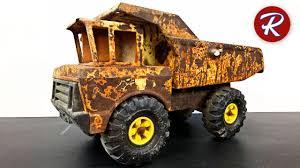 mighty tonka dump truck restoration