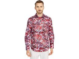 Robert Graham Blood Rose Button-Up Shirt | 6pm