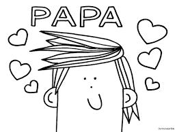 Kleurplaten Vaderdag Papa Jarig Vaderdag Kleurplaten