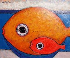 Bulls, Boats, Fish, Faces and Fruit: Nicaraguan painter Efren Medina | Art,  Artwork, Painter
