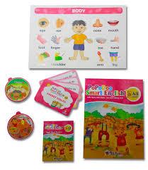 Bộ sách tiếng anh trẻ em cho trẻ 2-12 tuổi - PoPoDoo Smart English