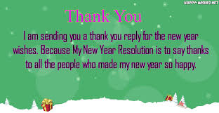 thank you reply wishes for new year