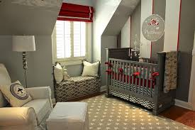 top 9 nursery decorating ideas in red