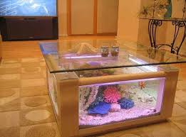 68 gallon square coffee table aquarium