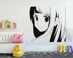 Anime Wall Decal Etsy