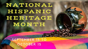 Hispanic Heritage Month with activities