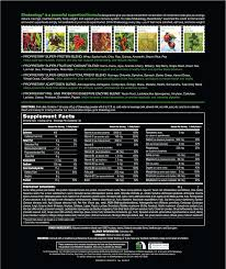 shakeology supplement facts