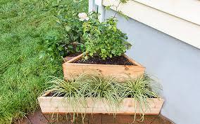 diy corner planter the home depot