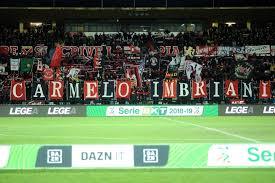 Cosenza-Benevento è la partita di Carmelo Imbriani - Tifo Cosenza