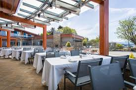 the heated glass enclosed patio and