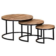 darsh 3pk coffee table set in washed