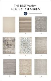 the 9 best warm neutral area rugs