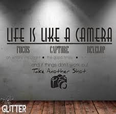 Second Life Marketplace Fg Life Is A Camera Wall Decal