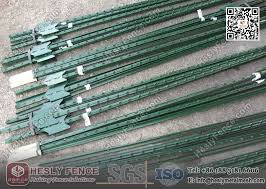 6 Length Studded T Post With Spade Tar Coating China T Post Exporter