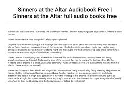 Sinners at the Altar Audiobook Free | Sinners at the Altar full audio…