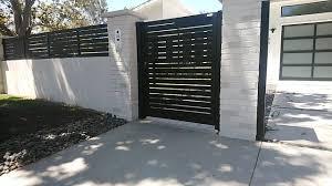 Pedestrian Gate And Fencing Extensions Video Modern Fence Design Door Gate Design House Gate Design