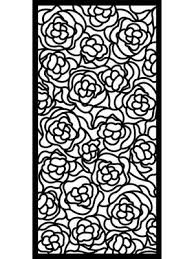 Large Black Stylish Composite Hana Floral Design Garden Screen By Screen With Envy In 2020 Garden Screening Contemporary Garden Garden Privacy Screen