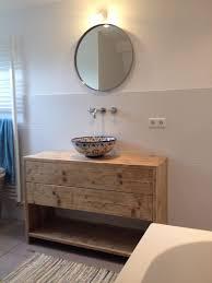 reclaimed wood mexican talavera sink