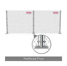 Temporary Chain Link Fence Rentals National Rent A Fence