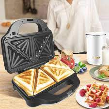 Lược Điện 3 Trong 1 Máy Làm Bánh Waffle Sắt Kẹp Máy Không Dính ...