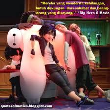 quotes of movies kata mutiara film quotes of big hero movie