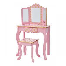 polka dot prints gisele toy vanity set