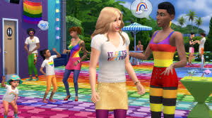 Sims 4 Pride update hits with free flags, rainbow outfits and ...