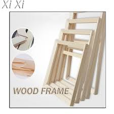 whole wood canvas frames