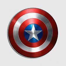 Captain America Shield Logo Vinyl Decal