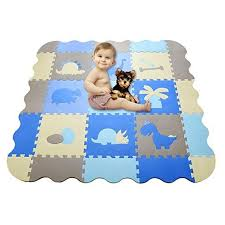 Han Mm Baby Play Mat With Fence Thick 0 56 Interlocking Foam Floor Tiles Crawl Mat Baby Tiles Play Puzzle Mat With Sof Baby Play Mat Foam Mats Eva Foam Mats