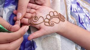 little girl mehndi design simple for kids