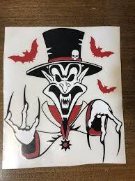 Insane Clown Posse Hallowicked Ringmaster 10 Vinyl Decal Etsy