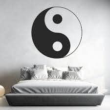 Ying Yang Symbol Love Peace Wall Sticker Ws 17479 Peace Wall Art Decal Wall Art Wall Stickers Love