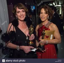 HOLLYWOOD, CA - FEBRUARY 22: Dana Perry and Ellen Goosenberg Kent ...