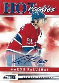 Aaron Palushaj 2011-12 Score Hot Rookies Signatures #516 | eBay