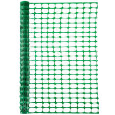 Boen 4 Ft X 100 Ft Green Plastic Temporary Fencing Mesh Snow Fence Safety Garden Netting 4 Pack Sf 41014 The Home Depot
