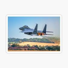 F 15e Strike Eagle 91 0315 Ln Sticker By Oscar533 Redbubble