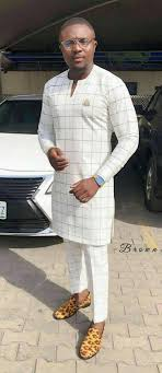 african groom suit