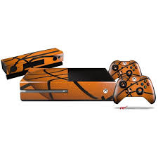 Basketball Skin Bundle Decal Style Skin Fits Xbox One Console Original Kinect And 2 Controllers Xbox System Not Included Walmart Com Walmart Com