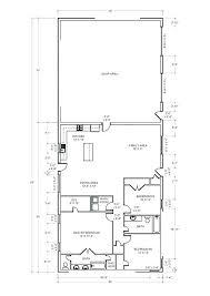 pole barn house plans 2 bedroom bath