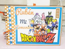 Libro De Firmas Comunion Dragon Ball Merbo Events