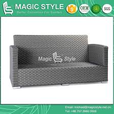 rattan sofa with cushion new design